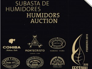 2015 Habanos Festival Auction 2015